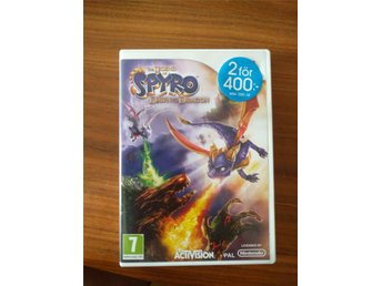 Nintendo Wii The Legend of Spyro -Dawn of the Dragon