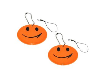 Reflex - Dubbelpack - Smiley - Orange