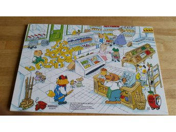 ***PUSSEL 20 BITAR RICHARD SCARRY THE BUSY WORK KÄRNAN*** 1 KR UTROP