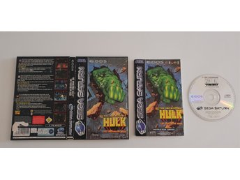 The Incredible Hulk Sega Saturn PAL