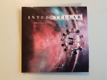 "Hans Zimmer Interstellar soundtrack "" Deluxe edition "" 2xLP"