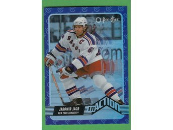 2007-08 O-Pee-Chee In Action #IA8 Jaromir Jagr New York Rangers