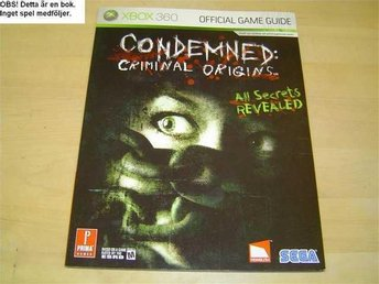 GUIDE CONDAMED CRIMINAL ORIGINS MICROSOFT XBOX 360 *NYTT*