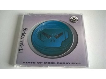 Goldie - State Of Mind, promo, CD
