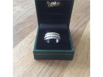 Bred Spinner ring - Meditations ring av STERLING SILVER / Strl: 16,25 mm - Lindesberg - Bred Spinner ring - Meditations ring av STERLING SILVER / Strl: 16,25 mm - Lindesberg