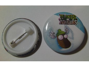 Nålknapp/Pins 3 cm Plants VS Zombies nr 15 ** 1 st ** - Hovmantorp - Nålknapp/Pins 3 cm Plants VS Zombies nr 15 ** 1 st ** - Hovmantorp