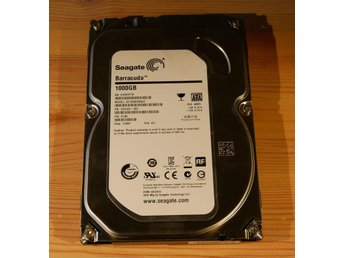 "Seagate HDD Barracuda ST1000DM003 ""Begagnad"""