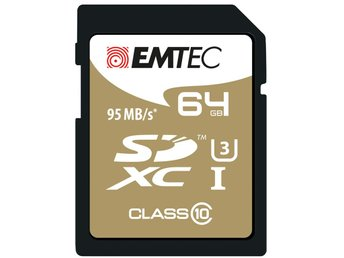Emtec 64GB SDXC CL10 95MB/s