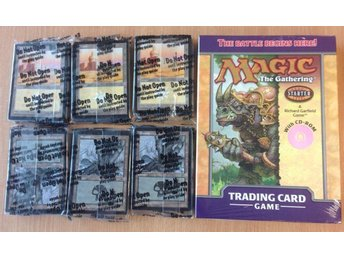 Magic the Gathering Starter Set 2 deck + 6 portal starter packs