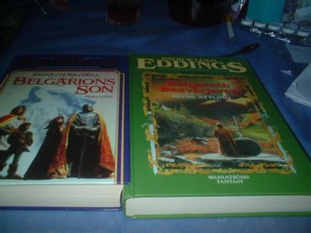 BOKPAKET.1:2 ST,DAVID EDDINGS