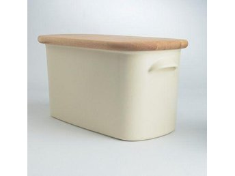 Brödlåda Nigella Lawson Living Kitchen Bread Bin Beech/Cream