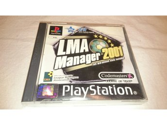 Playstation - PS0NE / LMA Manager 2001 Full Season Stats Included (M)