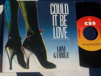 "LONI GAMBLE - COULD IT BE LOVE 7"" 1983 DANCE MIX"