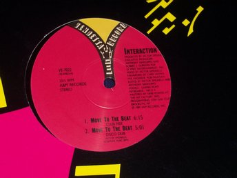 "INTERACTION - MOVE TO THE BEAT 12"" 1989"