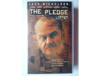 VHS film - The Pledge, löftet - Jack Nicholson
