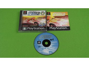 Tommi Mäkinen Rally KOMPLETT Playstation ps1