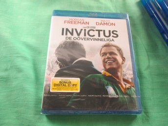 INVICTUS / DE OÖVERVINNELIGA / BLU RAY / SVENSK TEXT