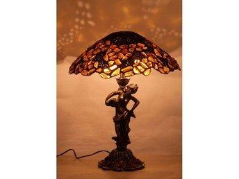 Amber lamp antique- L243 - Södertälje - Amber lamp antique- L243 - Södertälje