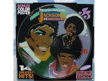Michael Jackson & The Jackson 5 - 14 greatest hits - bildskiva (Picture disc)