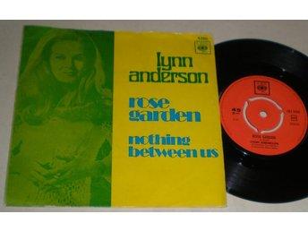 Lynn Anderson 45/PS Rose garden 1971 - Farsta - Lynn Anderson 45/PS Rose garden 1971 - Farsta