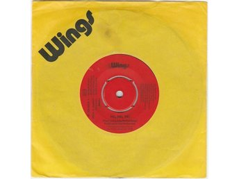 45 Single Paul McCartney Wings Hi Hi Hi Apple UK Beatles
