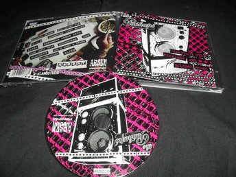 PUSHUPS - DRESSED UP STRAIGHT ON BLOWN DOWN(CD-ARSEN RECORDS AR-011 CD)