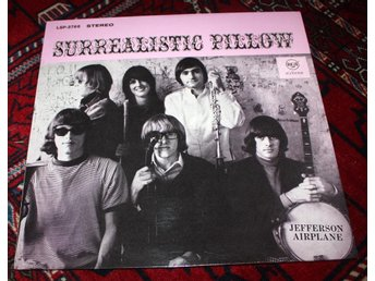JEFFERSON AIRPLANE Surrealistic Pillow 1967 Psych Rock M-