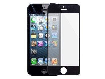 Display Glas till Iphone 5/5s - Svart färg