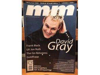 Musikermagasinet MM. Nr. 1, januari 2001. David Gray m.fl.