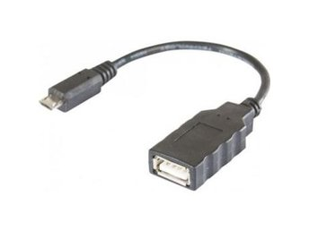 EXC Micro USB B Male to USB A Female Black