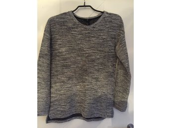 Oversize top i silver S