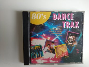 CD-album 80´s Dance Trax. Various artists. 1993.