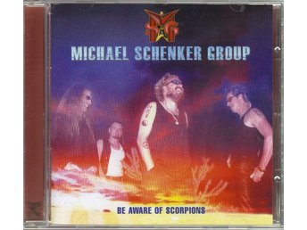 Michael Schenker Group MSG Be aware of scorpions CD 2001