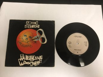 ANGELIC UPSTARTS / TEENAGE WARNING / THE YOUNG ONES / PRODUCED BY JIMMY PURSEY.