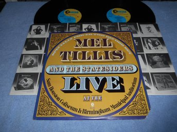 Mel Tillis and the Statesiders - Live (2LP) USA orginal