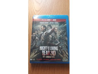 Night Of The Living Dead 3D Re-Animation - Ny Blu-ray (3D+2D)