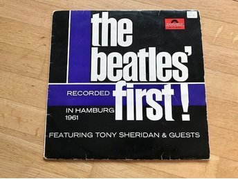 "The Beatles ""The Beatles First Featuring Tony Sheridan & Guest"""