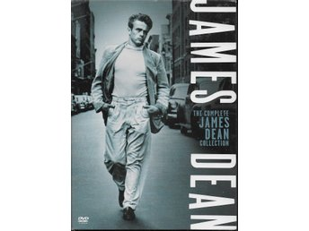 The Complete James Dean Collection  DVD-box Ny inplastad