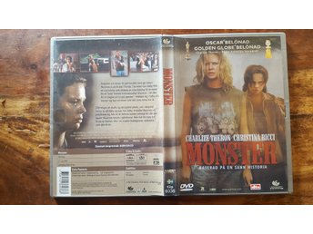 Monster / Thriller 2003 / DVD / Charlize Theron / Christina Ricci