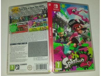 Splatoon 2 till Nintendo Switch! Passa på! 1kr