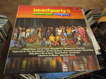 JAMES LAST - BEACHPARTY 5 - LP