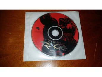 PC CD-ROM spel Primal rage