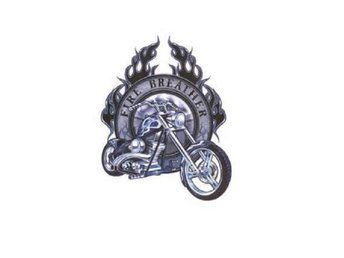 Fire Breather Choppers Stickers.