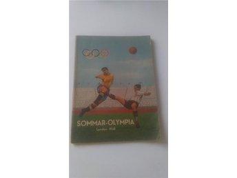 SOMMAR-OLYMPIA LONDON 1948 De 14:e olympiska sommarspelen - Göteborg - SOMMAR-OLYMPIA LONDON 1948 De 14:e olympiska sommarspelen - Göteborg