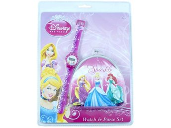 Disney - Princess set -Digital  Klocka med Börs - fr 6+