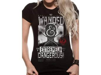 T-Shirt FANTASTIC BEASTS - WANDED POSTER (UNISEX) - L