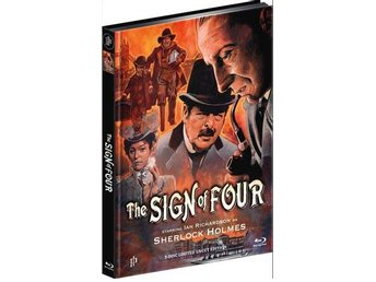 The Sign of Four (1983) Sherlock Holmes - Mediabook DVD Blu-ray. Ian Richardson - Norrsundet - The Sign of Four (1983) Sherlock Holmes - Mediabook DVD Blu-ray. Ian Richardson - Norrsundet