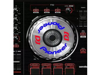 Pioneer ddj sx /sx2 series jog wheel sticker