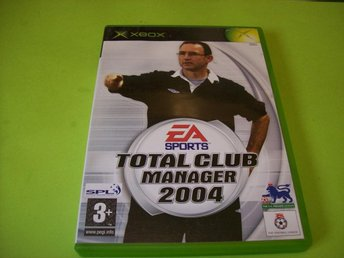 TOTAL CLUB MANAGER 2004 HELT NY (X-BOX)