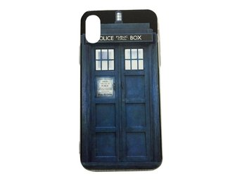 iPhone X Tardis Doctor Who Police Box